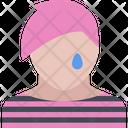 Emo Face Emoji Icon