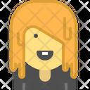 Emo girl Icon