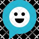 Emoji Face Chat Icon