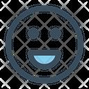 Emoji Smile Reaction Icon