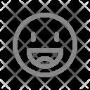 Emoji Like Happy Icon