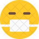 Medical Mask Emoji Icon