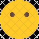 Mouth Mute Emoji Icon