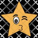 Emoji Feeling Loved Icon