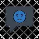 Emoji Smiley Message Icon