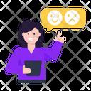 Chat Feedback Emoji Feedback Emoji Review Icon