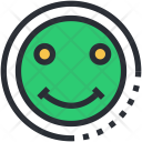 Emot Happy Face Icon