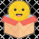 Emoticon Surprise Icon