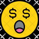 Emotion Money Face Icon