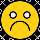 Emotion Sad Face Icon