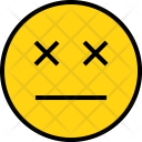 Emotion Die Face Icon