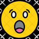 Emotion Shock Face Icon