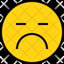 Emotion Boring Face Icon