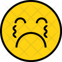 Emotion Cry Face Icon