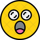 Emotion Exciting Face Icon