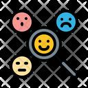 Emotion analysis Icon