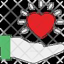 Emotional Heart Loving Icon