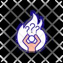 Emotional Burnout Icon