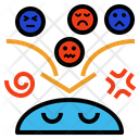 Emotional Problem Psychosis Icon