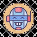Emotional Robotics Cyborg Robocorp Icon