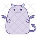 Emotionless Expressionless Sticker Icon