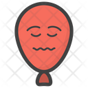 Emotionless Balloon Icon