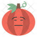 Emotionless Onion Face Icon