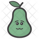 Emotionless Pear Icon
