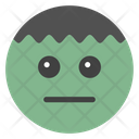 Emotionless Smiley Emoji Emoticon Icon