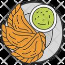 Sweet Food Empanada Argentinian Dish Icon