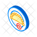 Empanadas Mexican Fried Icon