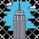 Empire state Icon