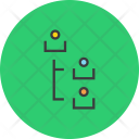 Employee Manager Relationship Icon