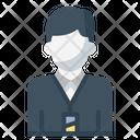 Employee User Businessman Icon