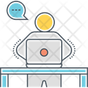Employee Work Manager Icon