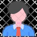 Employee Business Man Icon