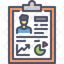 Employee Performance Report Icon