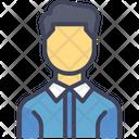 Employee Worker Man Icon