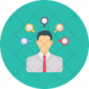Employee Candidate User Icon
