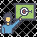 Employee Target Goal Icon