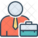 Employee Worker Roustabout Icon