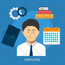 Employee Human Profession Icon
