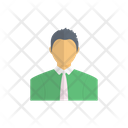 Employee Man Avatar Icon