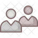 Business Financial Friends Icon