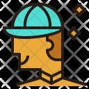 Employee Avatar Man Icon