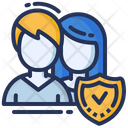 Employee Team Protection Icon