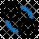Employee Exchange Sharing Icon