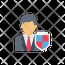 Employee Badge Security Icon