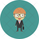 Employee Business Occupation Icon