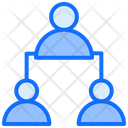 Connection User Employee Icon